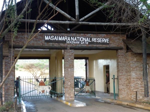 maasai mara entrance