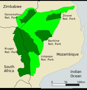limpopo park map